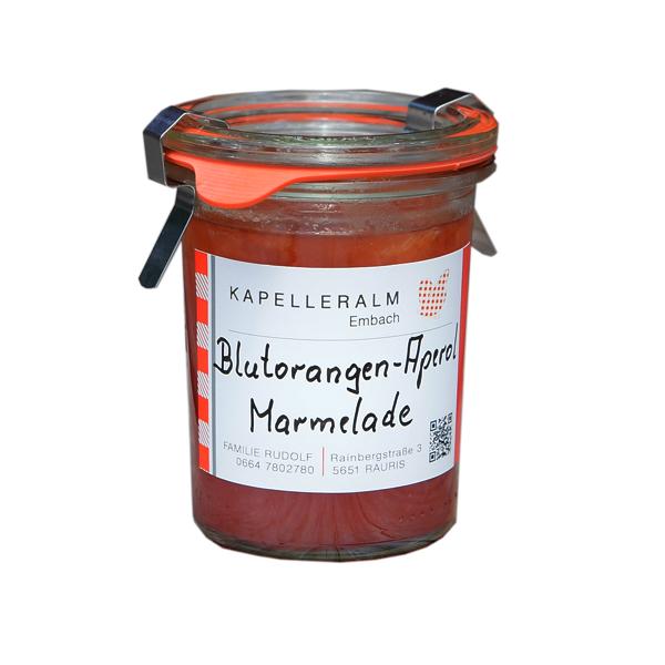 Blutorange-Aperol-Marmelade
